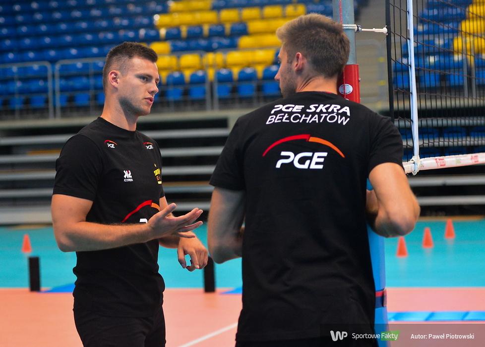 Siatkarze PGE Skry Bełchatów rozpoczęli przygotowania do sezonu (galeria)