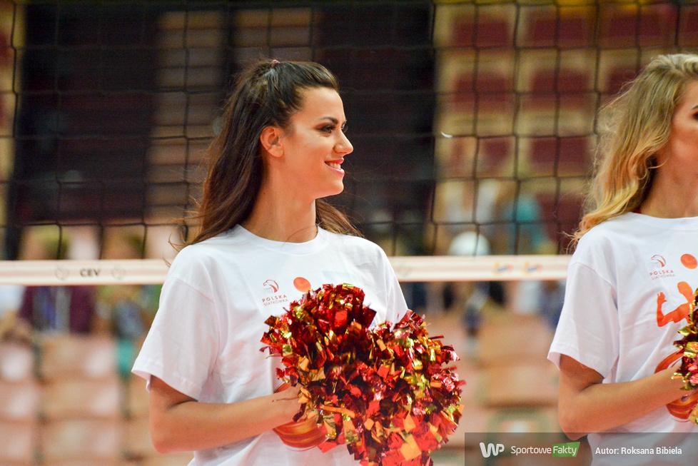 ME 2017 w siatkówce: Cheerleaders Wrocław w katowickim Spodku (galeria)