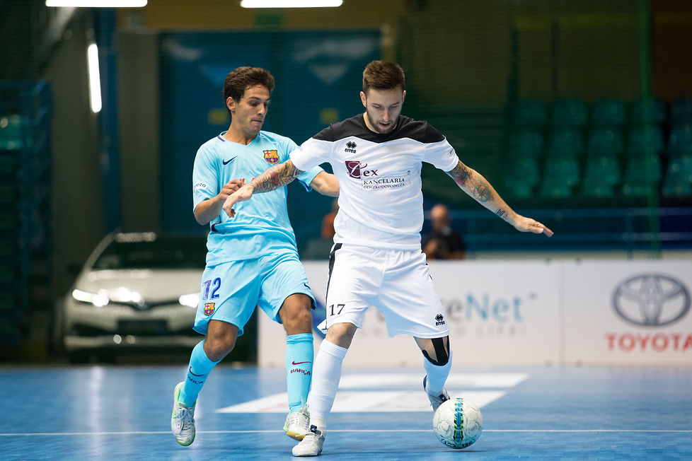 Bayer Futsal Masters : FC Barcelona Lassa - Lex Kancelaria Słomniki 2:4 (galeria)