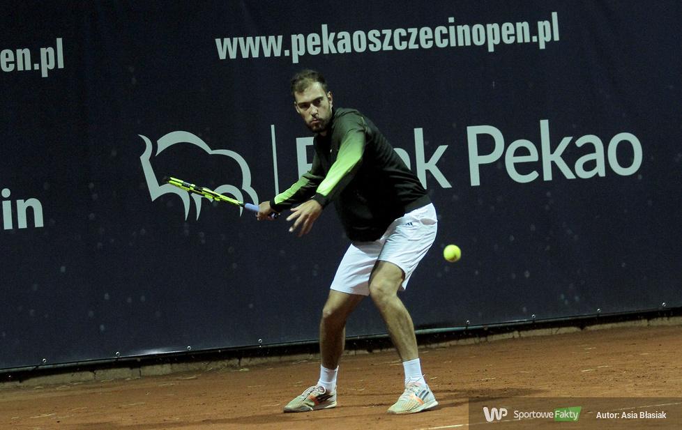Challenger Szczecin: Jerzy Janowicz - Kenny de Schepper 2:0 (galeria)