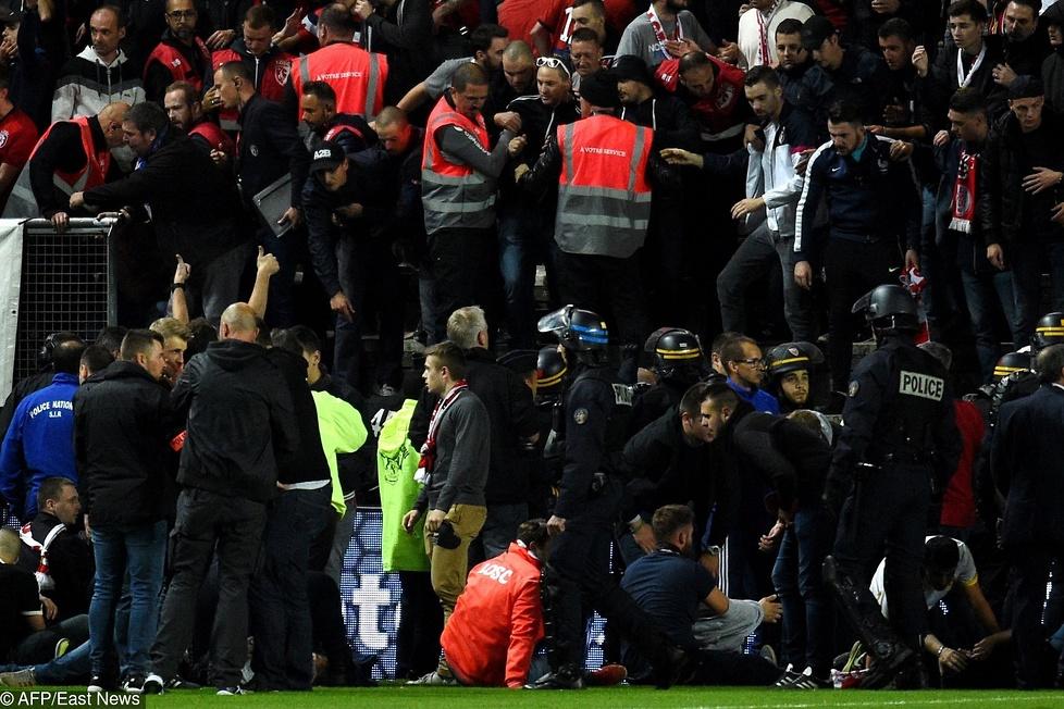 Mecz pomiędzy Amiens, a Lille został przerwany w 15 minucie. Chwilę wc...