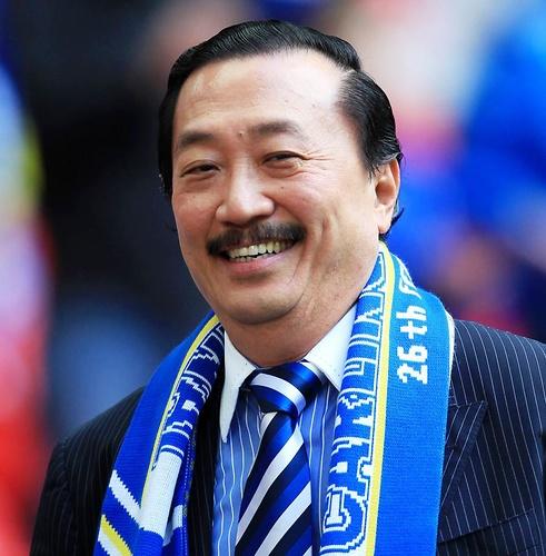 Właściciel Cardiff, Vincent Tan (fot. PAP/EPA)