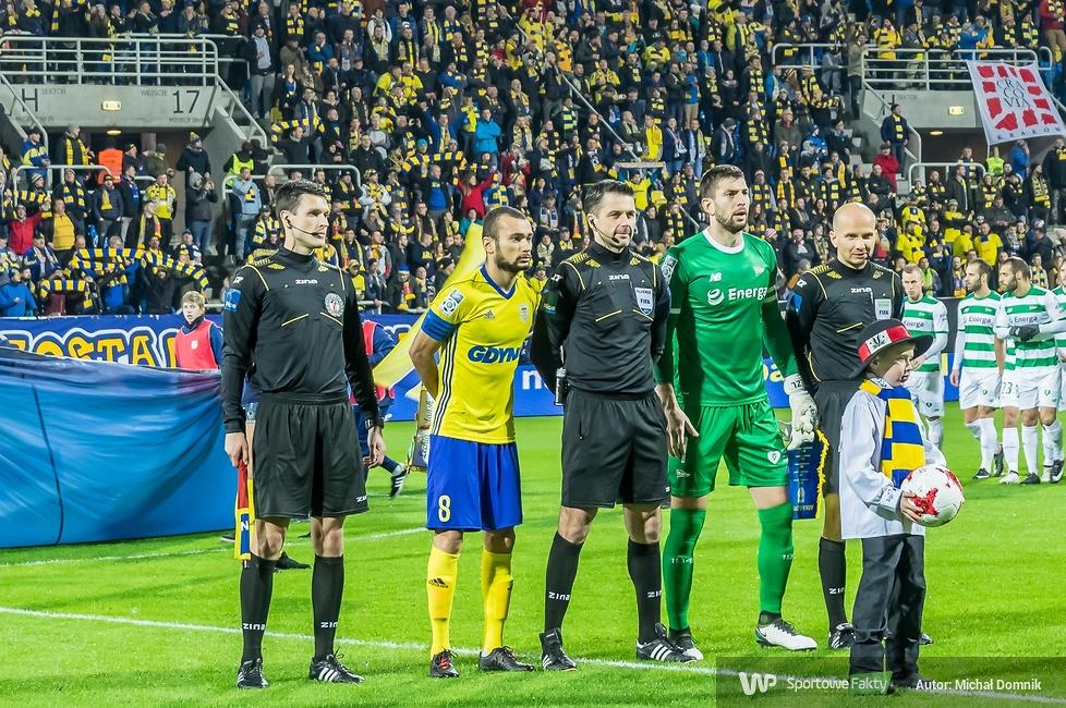 Derby Trójmiasta: Arka Gdynia - Lechia Gdańsk 0:1 (galeria)