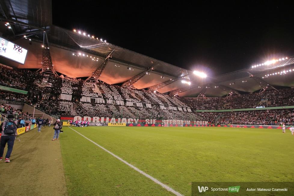 Oprawy na meczu Legia Warszawa - Górnik Zabrze 1:0 (galeria)
