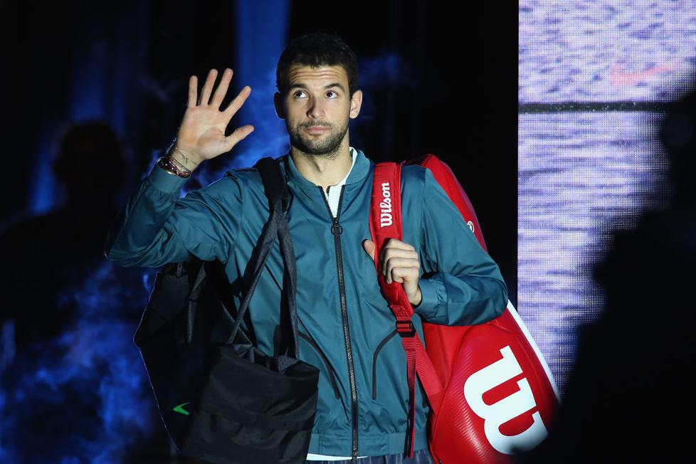 Grigor Dimitrow triumfatorem Finałów ATP World Tour (galeria)