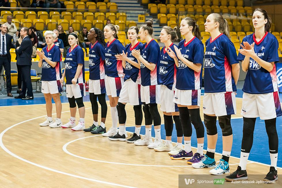 Basket 90 Gdynia - AGU Spor 58:57 (galeria)