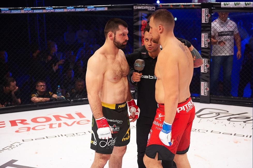 Babilon MMA 2: Szymon Kołecki - Michał Orkowski (galeria)