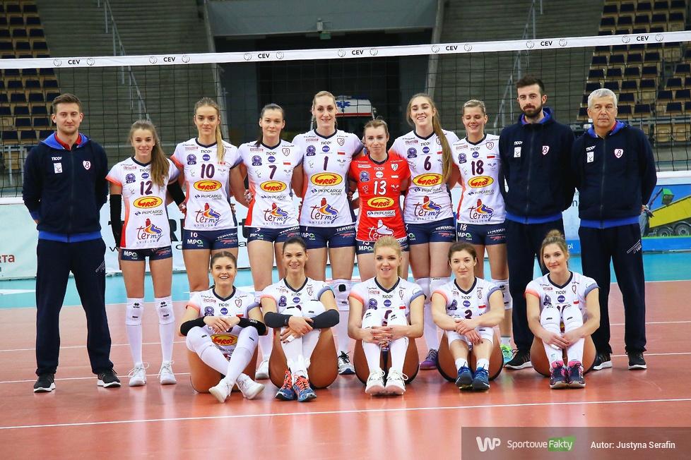 Grot Budowlani Łódź - Dynamo Moskwa 0:3