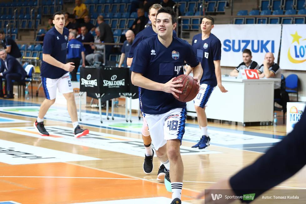 MKS Dąbrowa Górnicza - BM Slam Stal Ostrów Wielkopolski 68:73 (galeria)