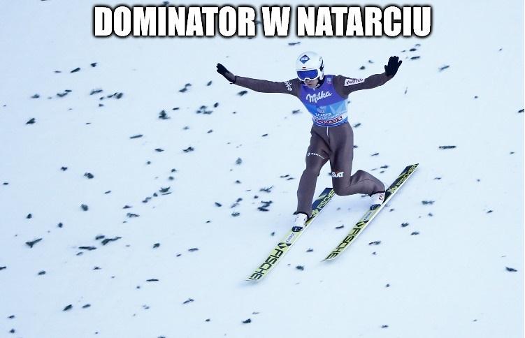 Kamil Stoch super star, dominator w natarciu. Memy po konkursie TCS w Innsbrucku (galeria)