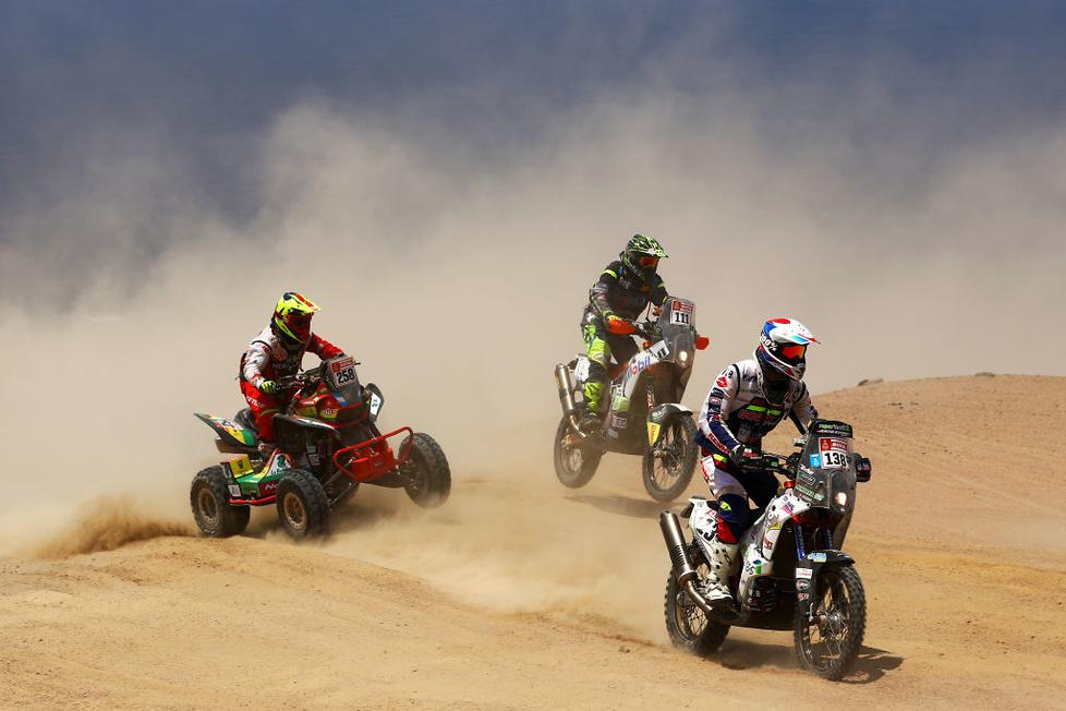 Najlepsze zdjęcia Rajdu Dakar (galeria)