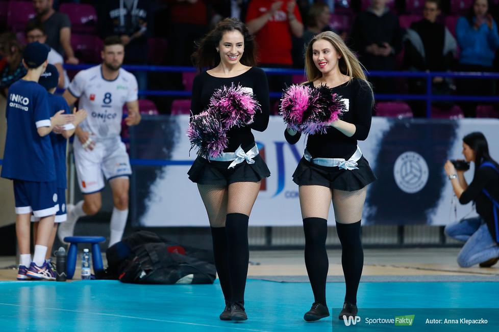 Bell Arto Cheerleaders na meczu PlusLigi w Warszawie (galeria)