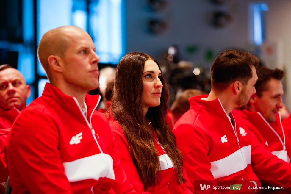 Pjongczang: ślubowanie olimpijskie kombinacji norweskiej, łyżwiarstwa szybkiego i snowboardu (galeria)