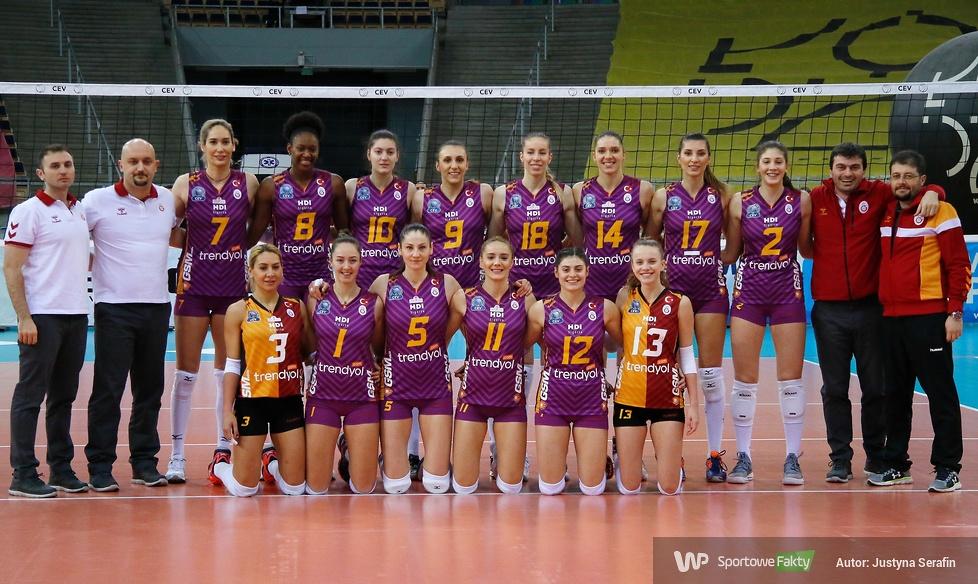 Liga Mistrzyń: Grot Budowlani Łódź - Galatasaray Stambuł 1:3 (galeria)