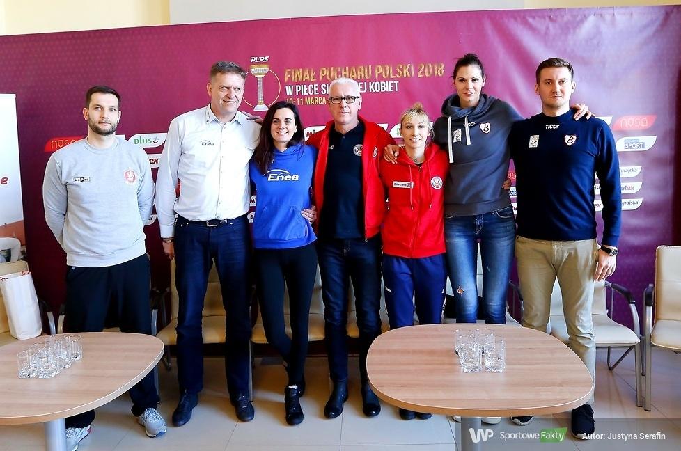 Konferencja prasowa przed Pucharem Polski kobiet w Nysie (galeria)