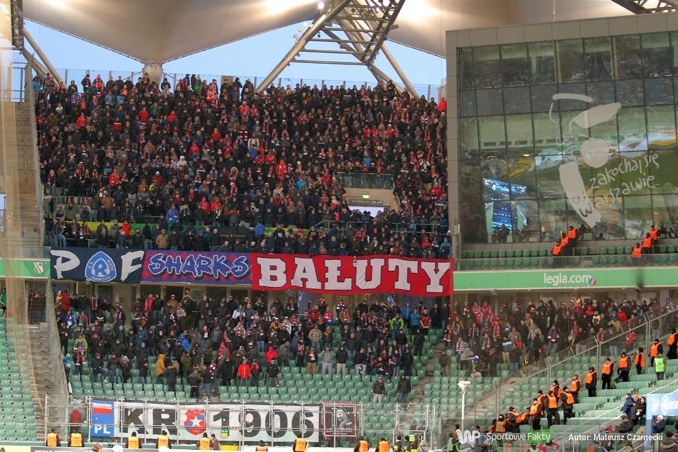 Kibice podczas meczu Legia Warszawa - Wisła Kraków (galeria)