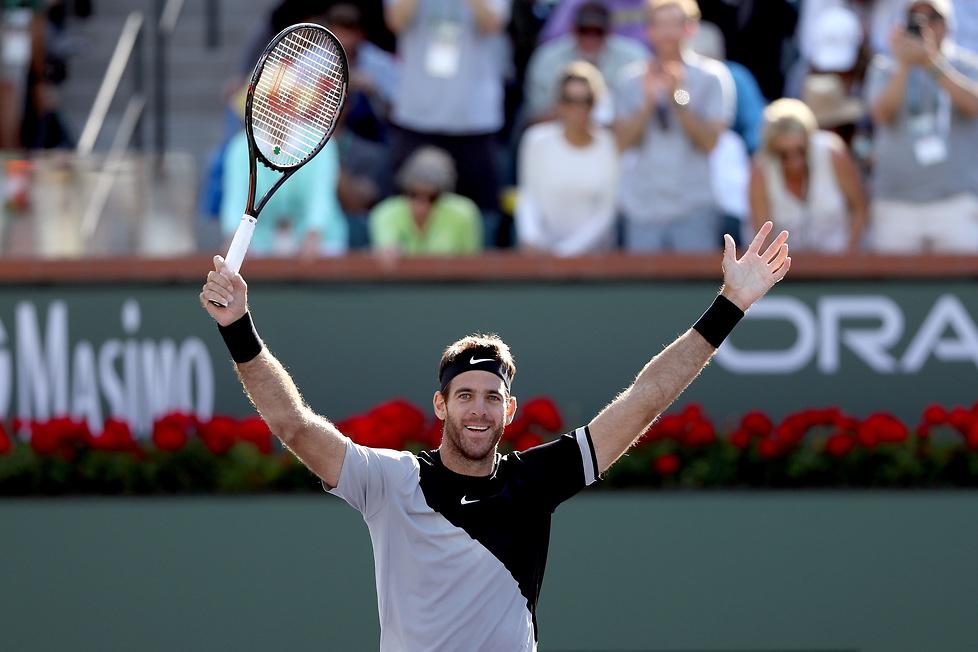 Juan Martin del Potro najlepszy w Indian Wells. W finale pokonał Rogera Federera (galeria)
