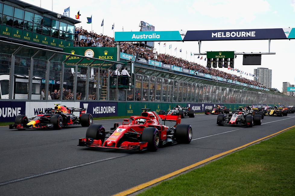 F1: najlepsze zdjęcia z GP Australii (galeria)