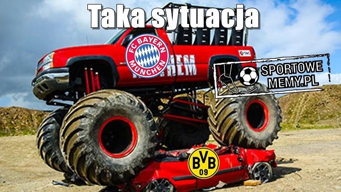 Lana sobota - memy po meczu Bayern Monachium - Borussia Dortmund