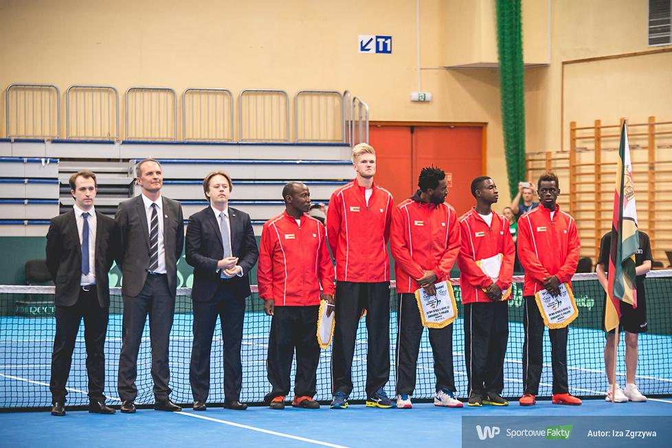Puchar Davisa: Polska - Zimbabwe - ceremonia otwarcia (galeria)