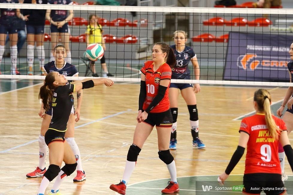 I liga kobiet: Wisła Warszawa - Energa MKS Kalisz 0:3 (galeria)