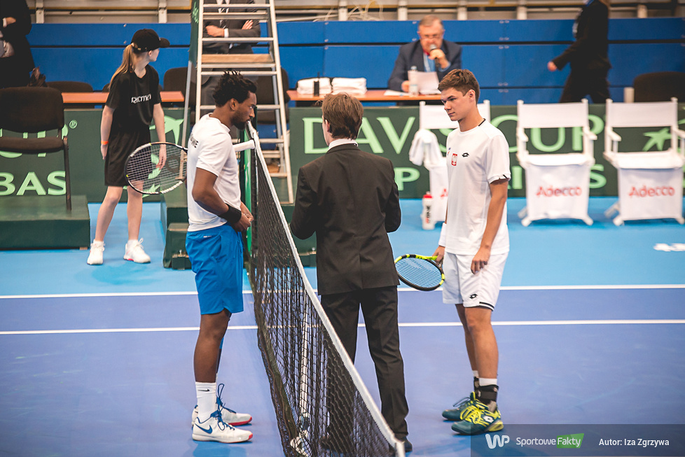 Puchar Davisa: Kamil Majchrzak - Takanyi Garanganga 2:0 (galeria)