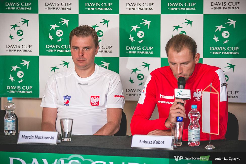 Puchar Davisa: konferencja prasowa po meczu deblowym (galeria)