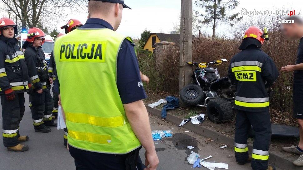 Tragiczny wypadek Daniela Kutarby. Zobacz zdjęcia z miejsca zdarzenia