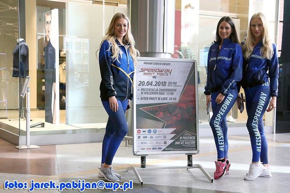 Akcja promocyjna przed Speedway Best Pairs w Rzeszowie (galeria)