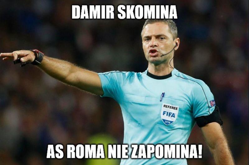 Sędziowskie błędy, szacunek dla Romy. Memy po półfinale Ligi Mistrzów (galeria)