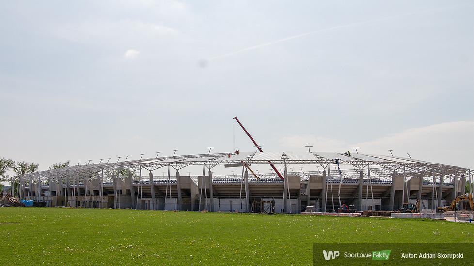 Budowa stadionu żużlowego w Łodzi - maj 2018 (galeria)