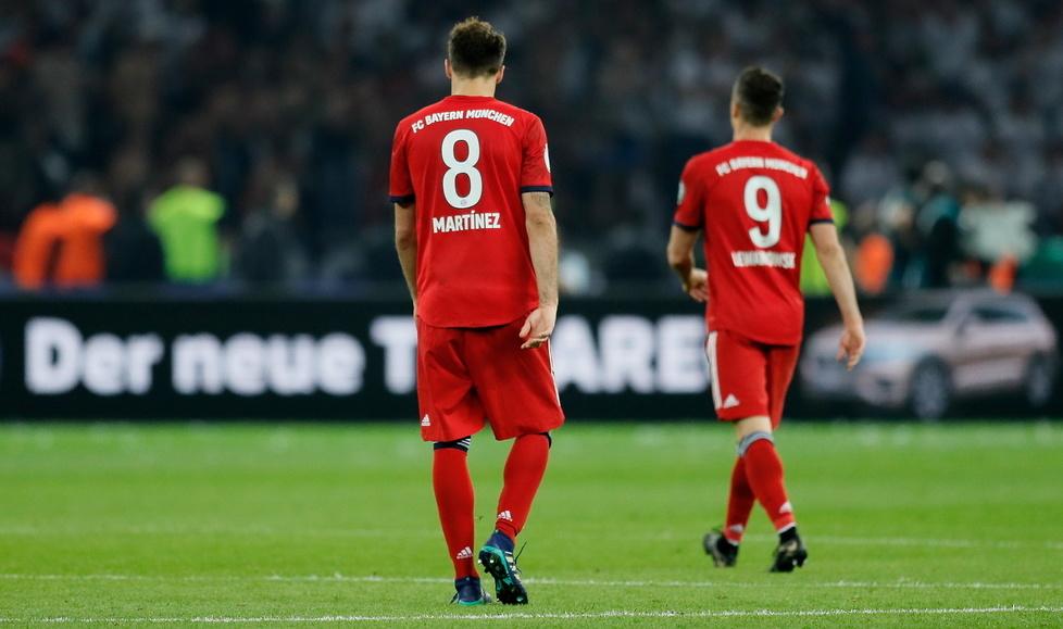 Sensacja w finale Pucharu Niemiec. Wielka radość Eintrachtu i smutek piłkarzy Bayernu (galeria)