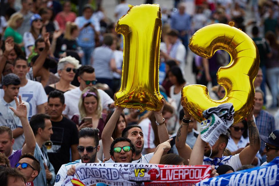 Real Madryt świętuje 13. Puchar Europy (galeria)