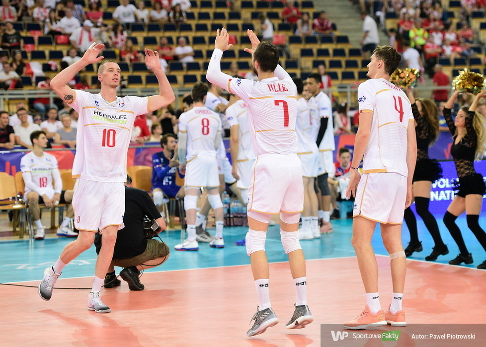 Liga Narodów: Francja - Chiny 2:3 (galeria)