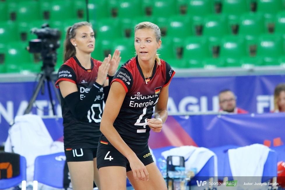 Liga Narodów Kobiet: Niemcy - Belgia 3:1 (galeria)