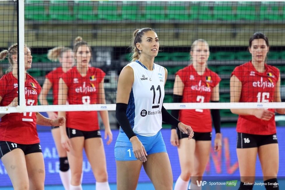 Liga Narodów Kobiet: Belgia - Argentyna 3:0 (galeria)