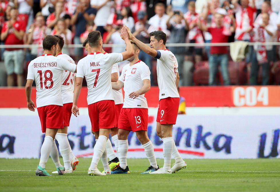 Mundial 2018. Polska - Litwa. Efektowna strzelanina Biało-Czerwonych przed mundialem (galeria)