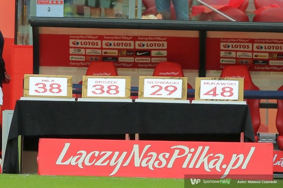 Brożek, Głowacki, Mila i Murawski oficjalnie pożegnani na PGE Narodwym (galeria)