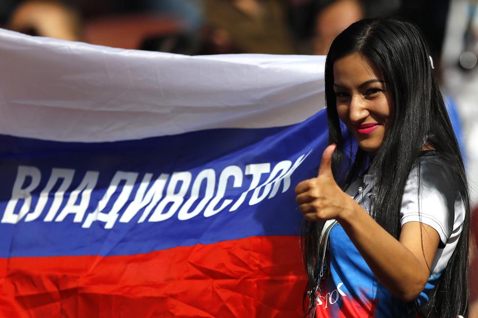 Mundial 2018. Piękne fanki wspierały rosyjskich piłkarzy (galeria)