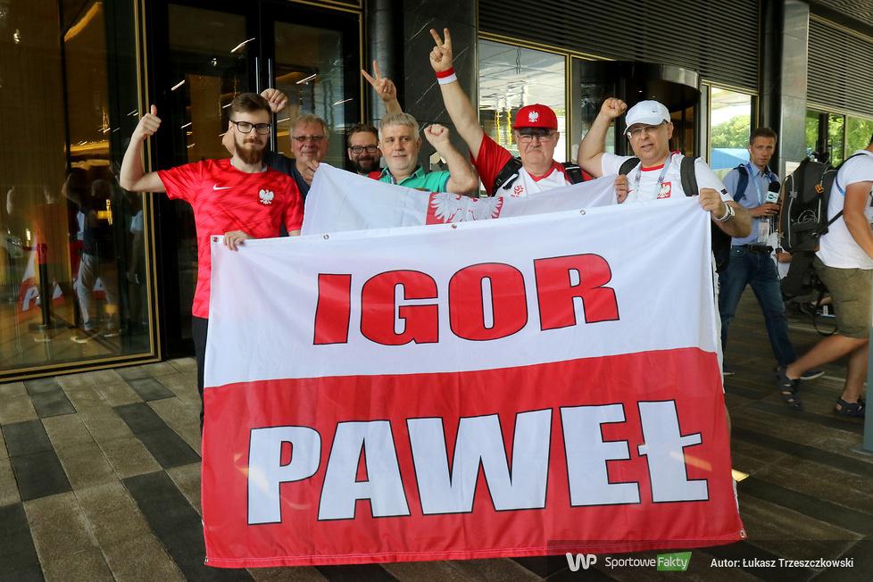 Mundial 2018. Przyjazd reprezentacji Polski do hotelu w Moskwie (galeria)