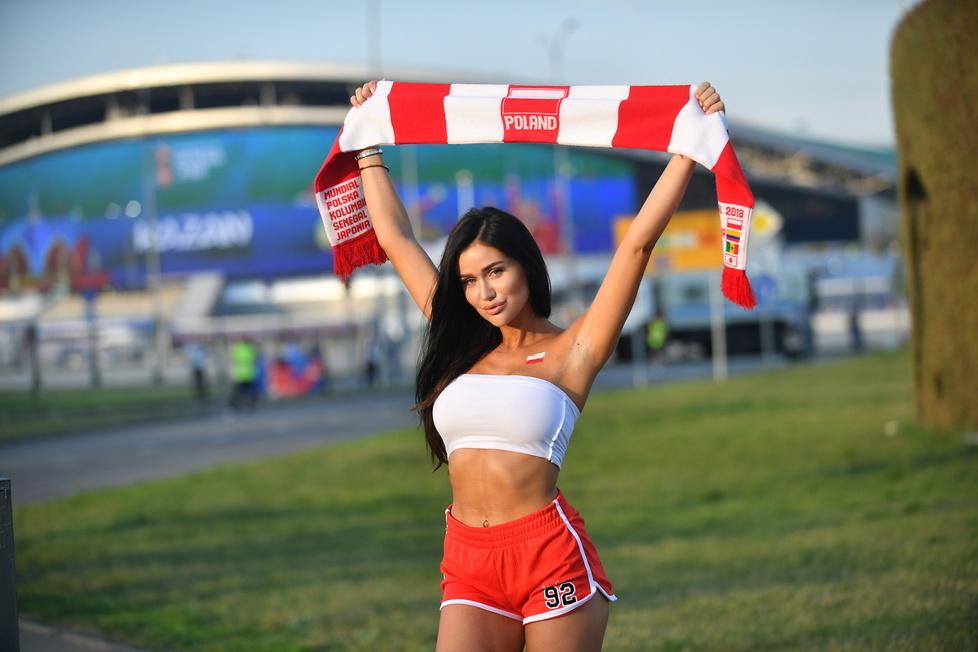 Mundial 2018. Piękna Polka walczy o tytuł miss mistrzostw świata. Jej zdjęcia z Rosji robią wrażenie