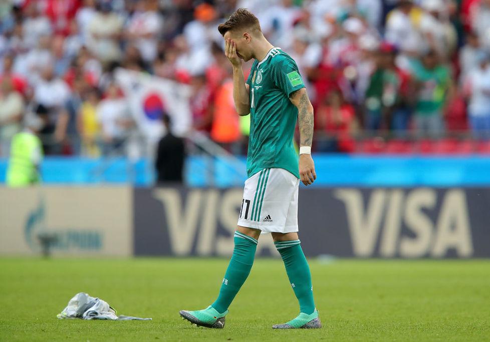 Mundial 2018. Rozpacz Niemców. Jedni płakali, drudzy chwytali się za głowę (galeria)