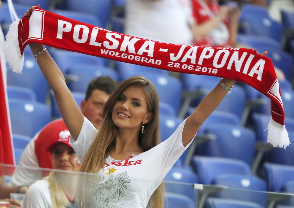 Mundial 2018. Piękne Polki i Japonki podczas meczu w Wołgogradzie (galeria)
