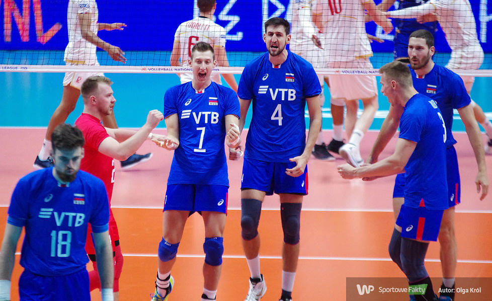 Liga Narodów: Francja - Rosja 0:3 (galeria)
