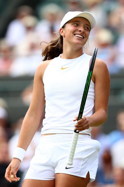 Iga Świątek mistrzynią juniorskiego Wimbledonu! Znakomity występ polskiej tenisistki! (galeria)