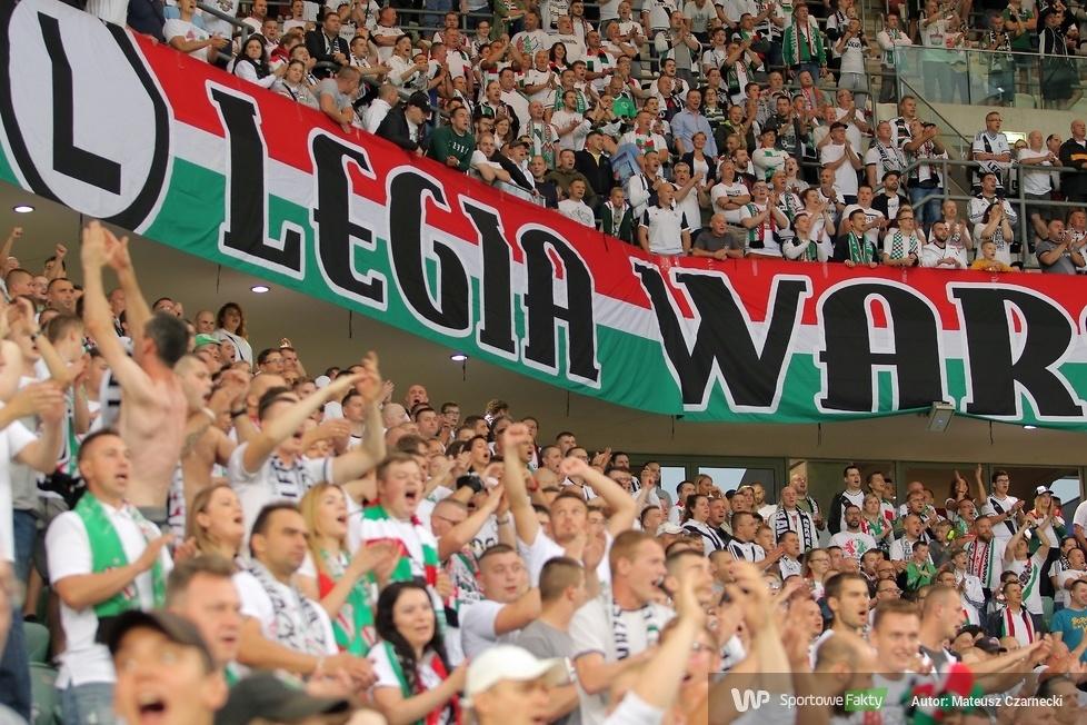 Kibice podczas meczu Legia Warszawa - Arka Gdynia 2:3 (galeria)