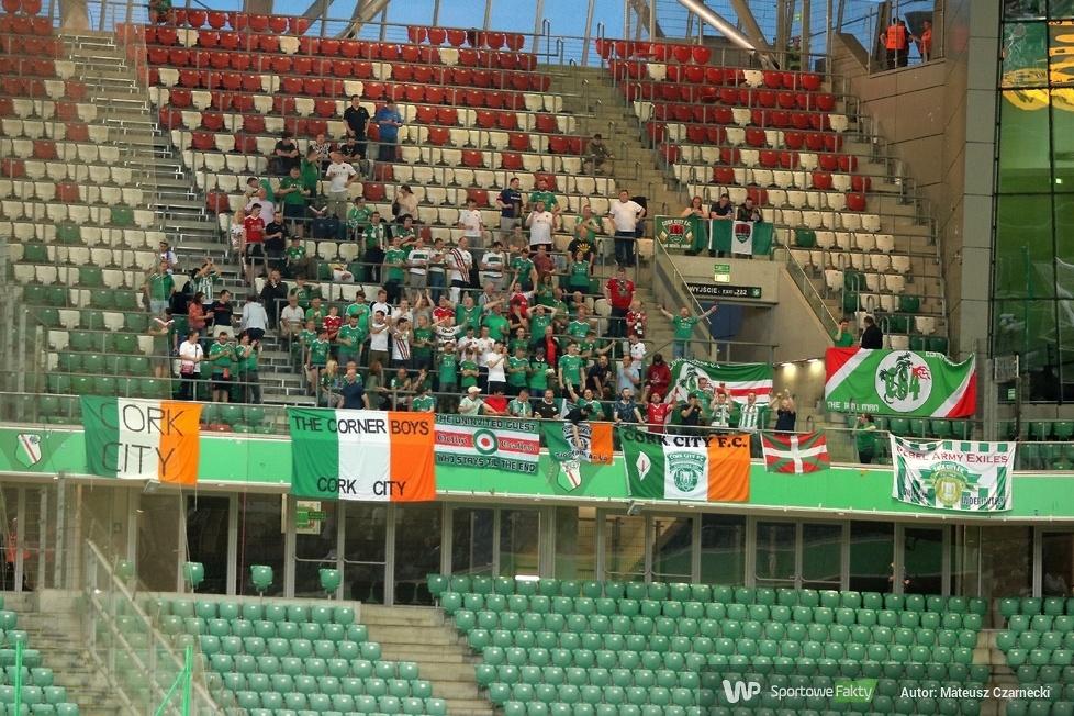 Kibice podczas meczu Legia Warszawa - Cork City 3:0 (galeria)