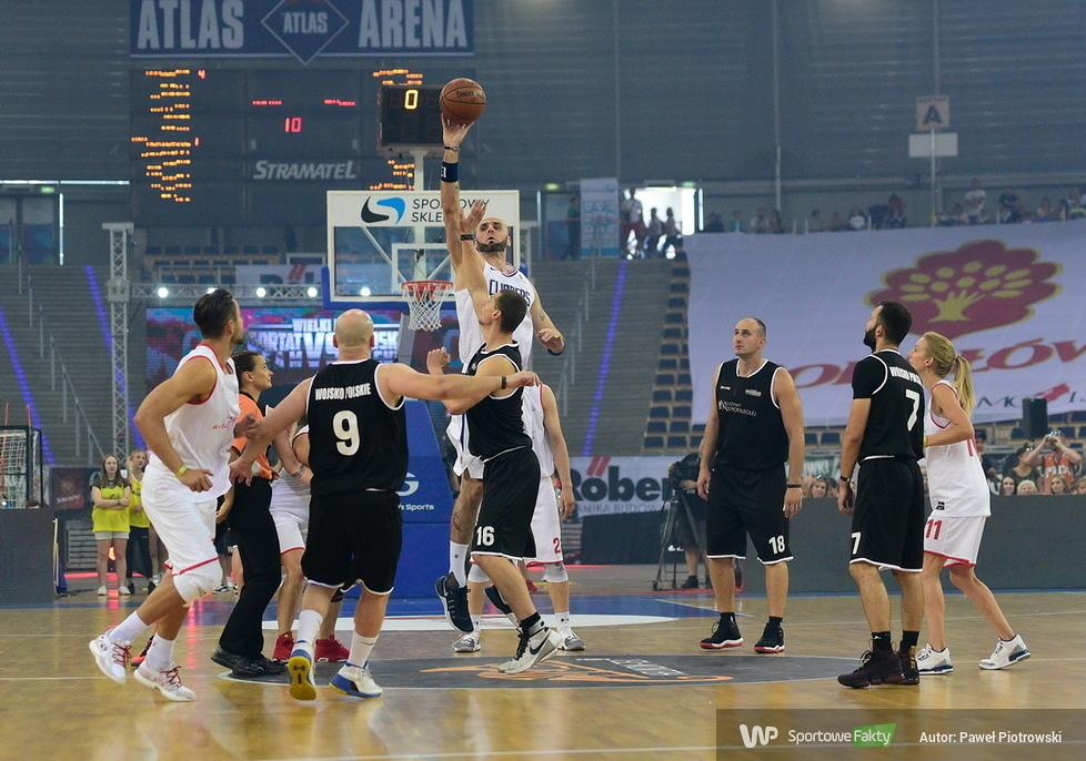 Wielki mecz Gortat Team - Wojsko Polskie (galeria)