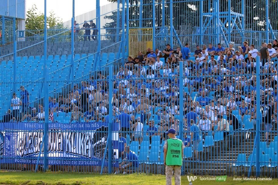Kibice podczas meczu Wisła Płock - Lech Poznań 1:2 (galeria)