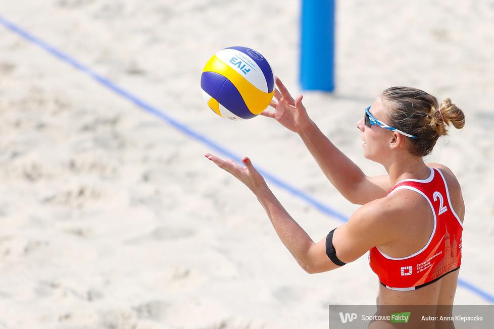 ORLEN Mistrzostwa Polski w siatkówce plażowej Kraków 2018 - dzień 3 - mecze finałowe kobiet (galeria)